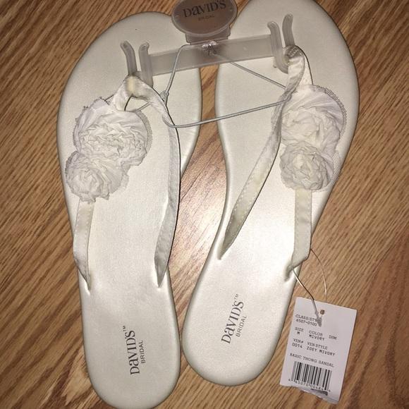 2c68e612764a3b David s bridal flip flops